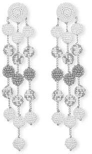 Suzanna Dai Samburu Long Chandelier Earrings