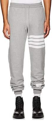 Thom Browne Men's Block-Striped Cotton Jogger Pants