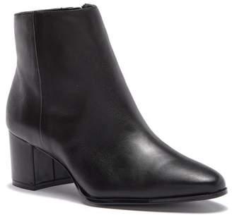 Calvin Klein Fimora Nappa Leather Ankle Bootie