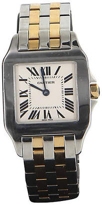 One Kings Lane Vintage Cartier Santos Demoiselle Gold SS Watch - Precious & Rare Pieces