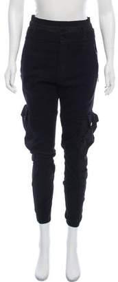 Alexander McQueen High-Rise Skinny Pants