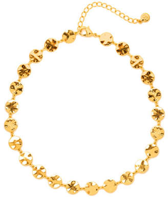 Gorjana Chloe Coin Choker Necklace
