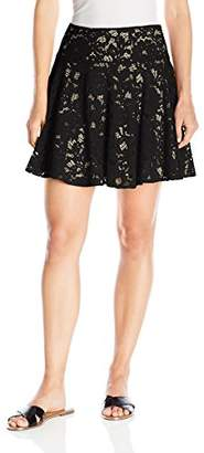 Paris Sunday Women's Short Lace Skirt