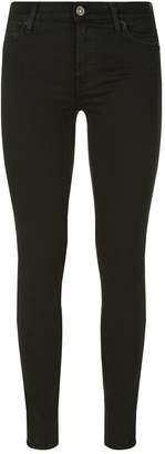 7 For All Mankind Slim Illusion High Waist Super Skinny Jeans