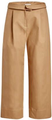 Carven Cropped Cotton Pants