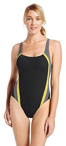 Speedo Women's Quark Splice Pulseback Endurance Lite Swimsuit