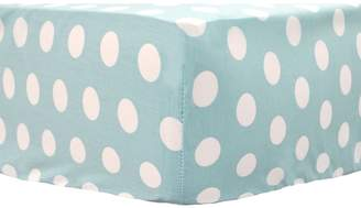 My Baby Sam Pixie Baby Aqua Crib Sheet