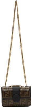 Fendi Black Mini Forever Chain Bag