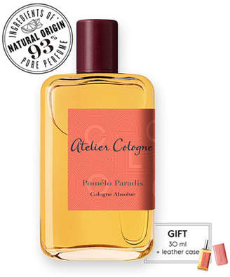 Atelier Cologne Pomelo Paradis Cologne Absolue, 200 mL with Personalized Travel Spray, 30 mL