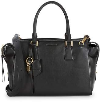 Cole Haan Women's Square Leather Satchel