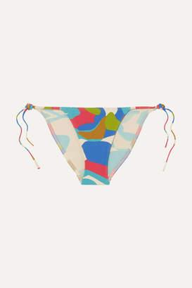 Eres Island Printed Bikini - Blue