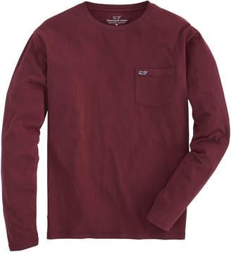 Vineyard Vines Long-Sleeve Overdyed Heathered T-Shirt