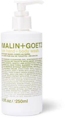Malin+Goetz Malin + Goetz - Rum Hand + Body Wash, 250ml - White