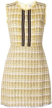 Liu Jo sleeveless tweed dress