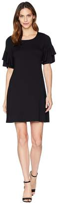 Karen Kane Ruffle Sleeve Dress Women's Dress