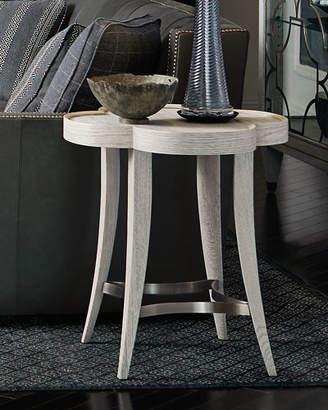 Bernhardt Damonica White Oak Side Table