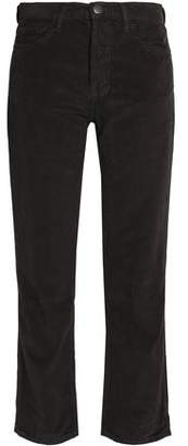 Current/Elliott Corduroy Straight-Leg Pants