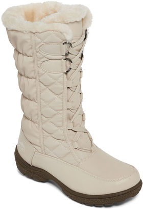 Totes Tracey III Tall Lace-Up Winter Boots $69.99 thestylecure.com