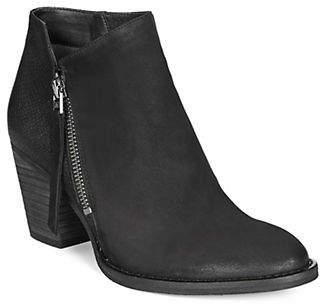 Sam Edelman Point Toe Leather Booties