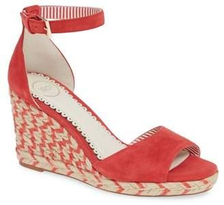 1901 Nadine Espadrille Wedge Ankle Strap Sandal (Women)