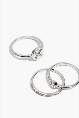 Country Road Valentine Ring Set