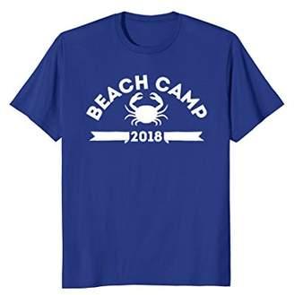 Beach Camp 2018 - Summer Beach Camp T Shirt