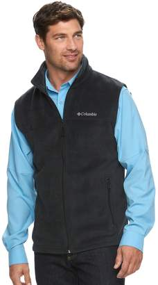 Columbia Big & Tall Flattop Ridge Colorblock Fleece Vest
