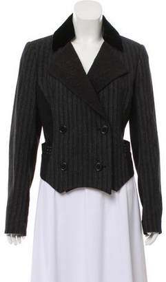 Etro Striped Double-Breasted Blazer