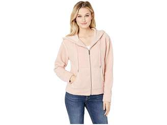 Sanctuary After Party Zip Hoodie Sweatshirt