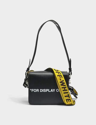 Off-White OFF WHITE 'For Display Only' flap bag
