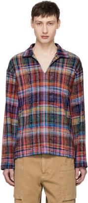 Missoni Multicolor Pattern Tunic Polo