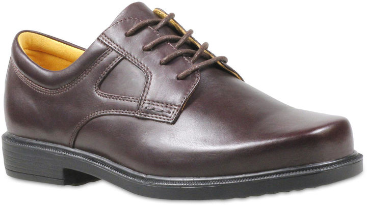 Propet Oxford Mens Leather Dress Shoes
