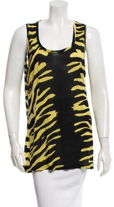Alice by Temperley Sleeveless Printed Top w/ Tags $75 thestylecure.com