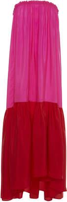 Anaak Maaya Two-Tone Strapless Dress