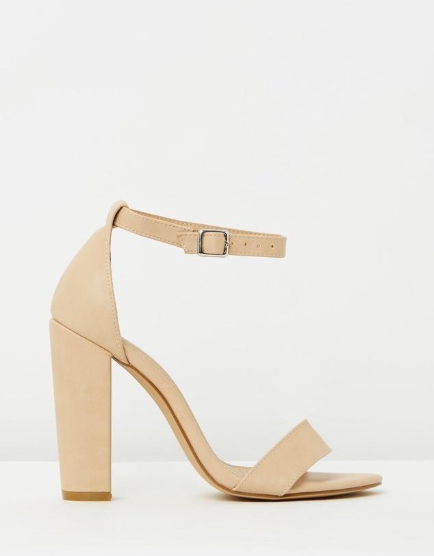 Nude Designer Heels - ShopStyle Australia