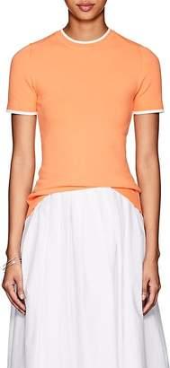 JoosTricot Women's Tipped Fine-Gauge Knit Top