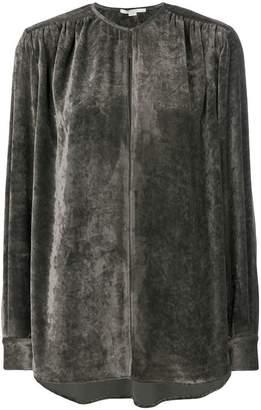 Stella McCartney velvet blouse