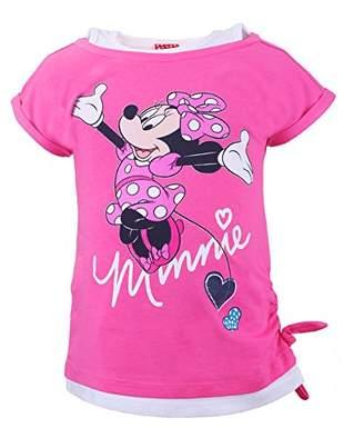 Disney Girl's 73203 T-Shirt, (Blau 776)