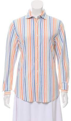 Amina Rubinacci Striped Button-Up