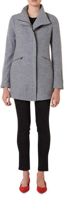 Rose Felted Wool Coat