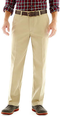 ST. JOHN'S BAY Worry Free Flat-Front Pants