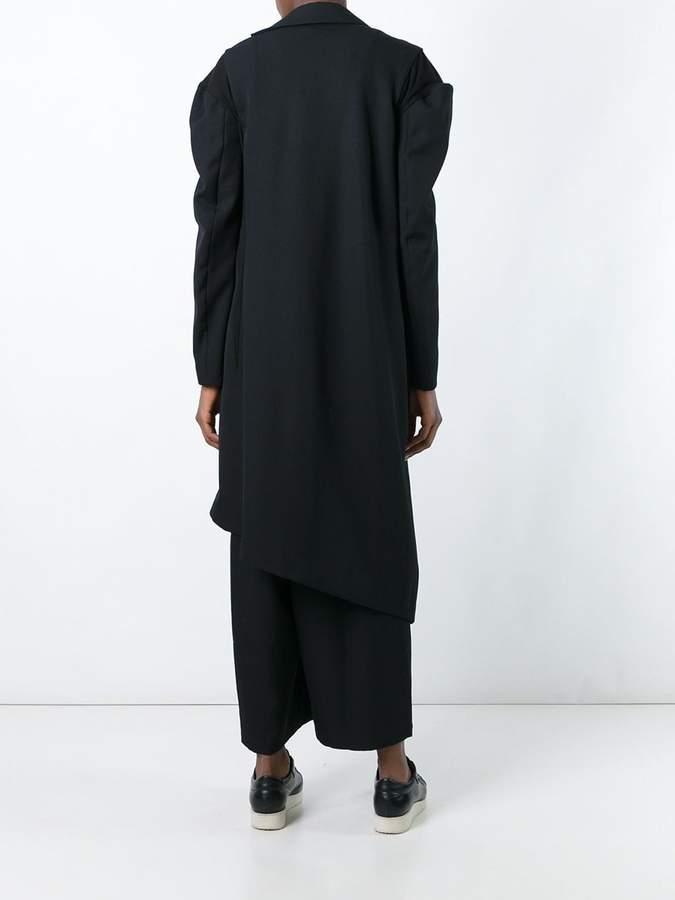 Yohji Yamamoto asymmetric coat