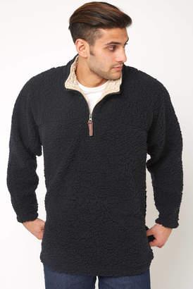 Live Oak Solid Color 1/4 Zip Fleece Pullover