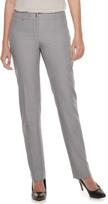 be1addc363b6e Apt. 9 Women s Torie Midrise Modern Fit Straight-Leg Dress Pants