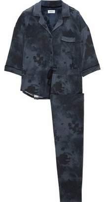 DKNY Striped Modal-Blend Jersey Pajama Set