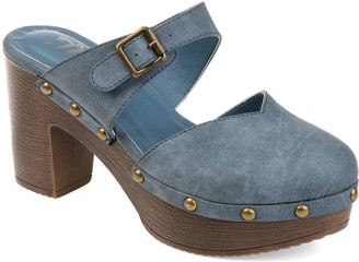 Journee Collection Saige Women's Platform Clogs