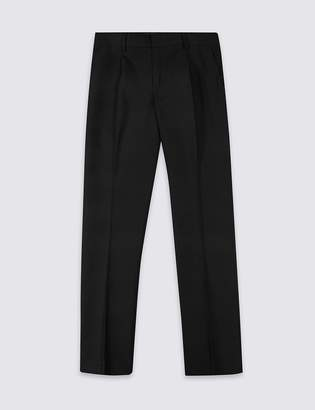 Marks and Spencer Senior Boys' Skinny Leg Trousers
