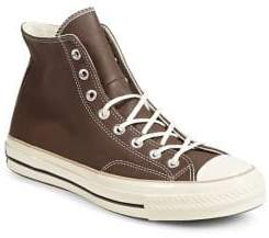 Converse Leather High-Top Sneakers
