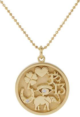 Jennifer Meyer Women's Good Luck Charm Pendant Necklace