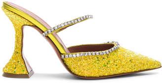 styling/ Amina Muaddi Glitter Gilda Mules